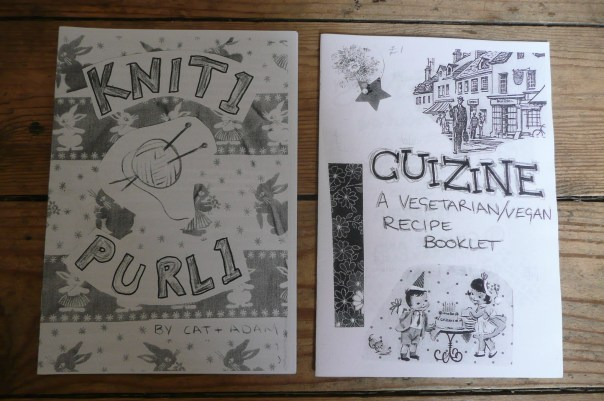 Zines by Loosely Bound member Cat Simons