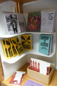 Zines by Melanie Maddison and Rob Jackson comics